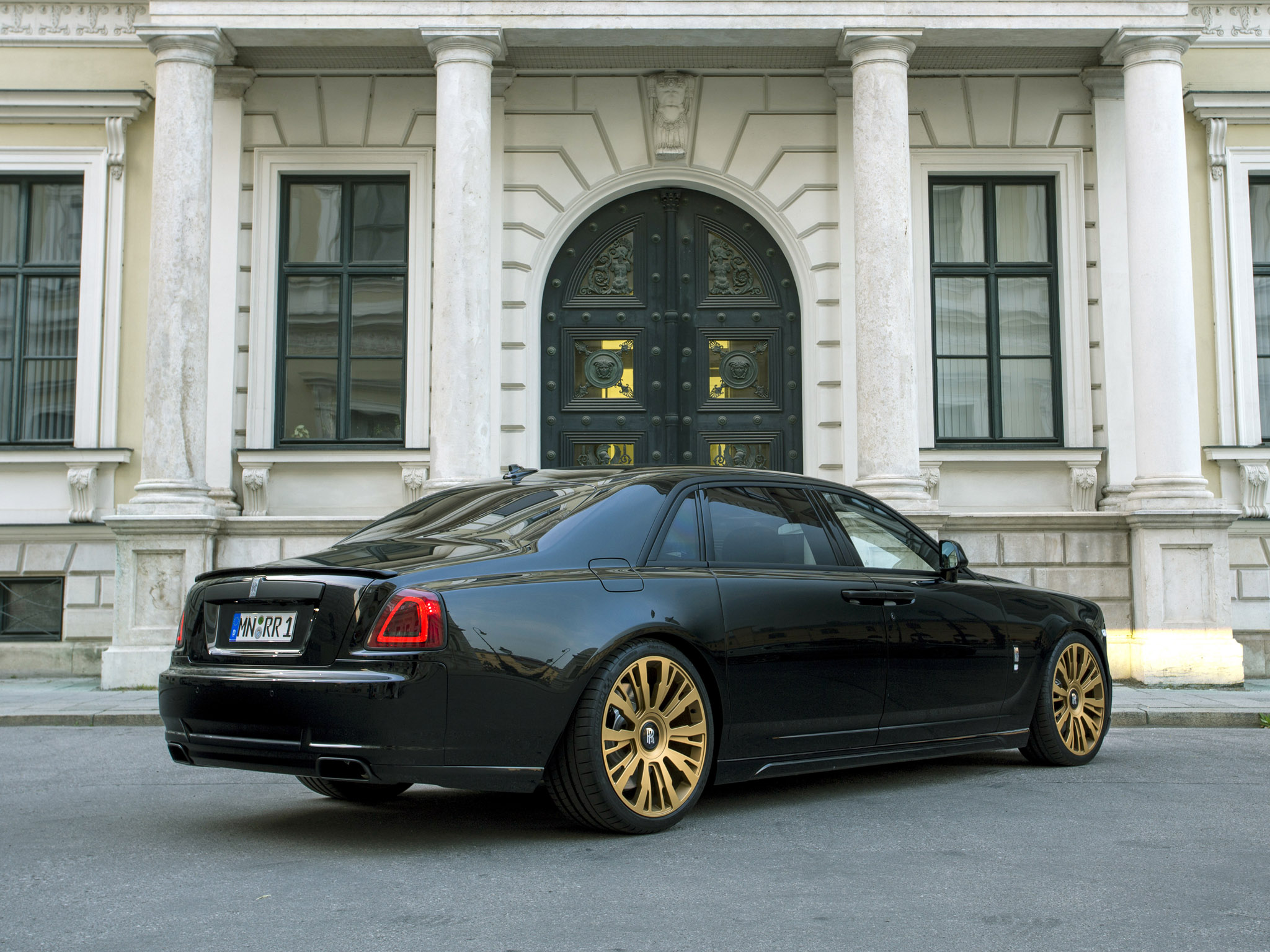 2015 Spofec Rolls Royce Black One