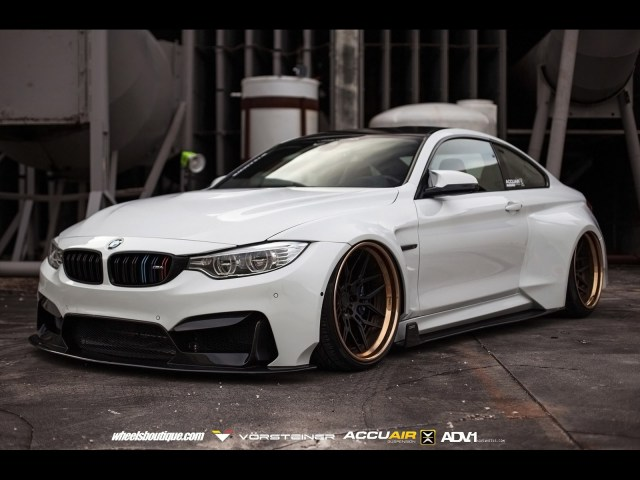 2016 Vorsteiner - Bmw M4 GTRS4 Widebody