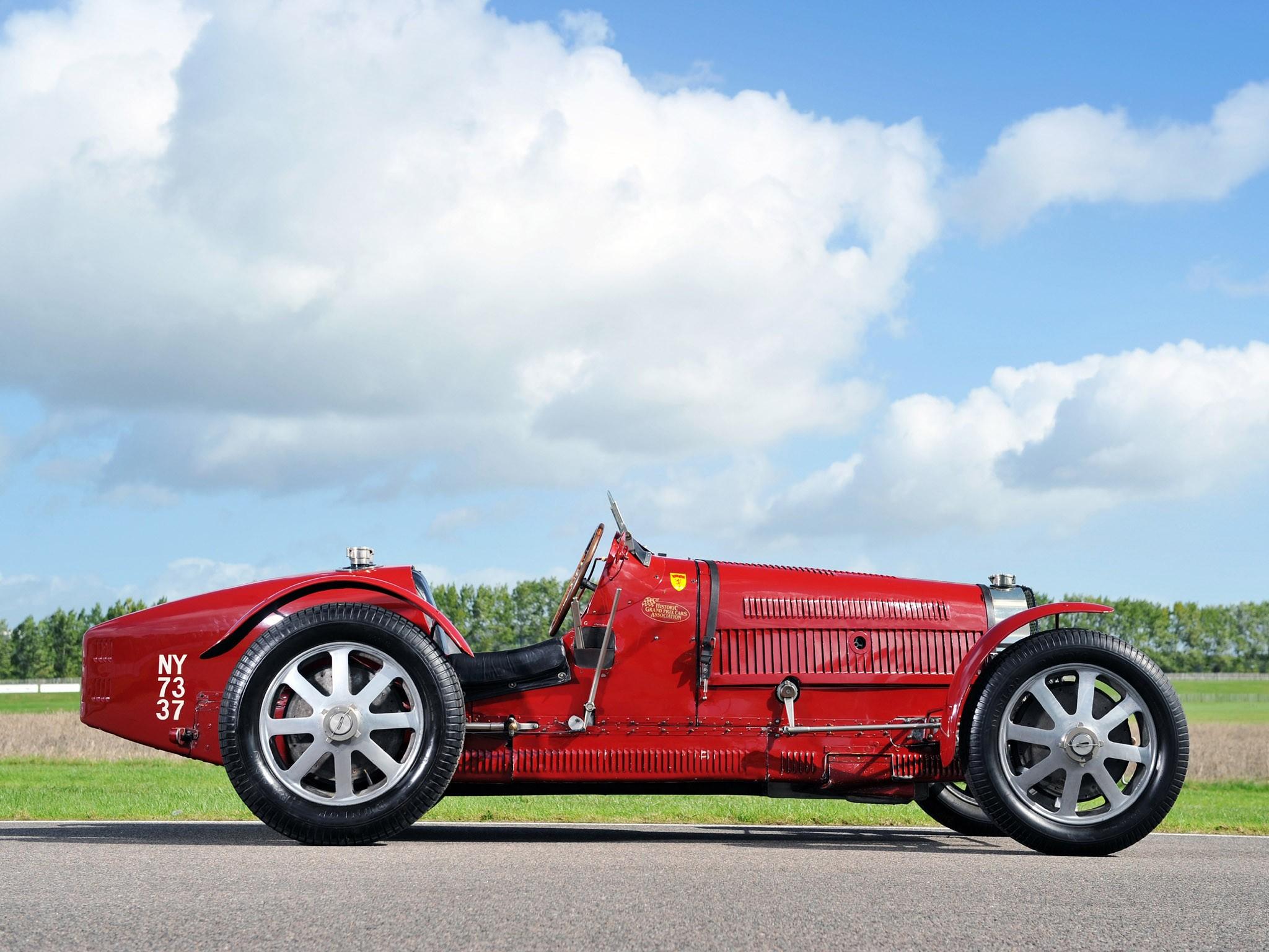 Bugatti Type 51 Grand Prix Lord Raglan (1933)