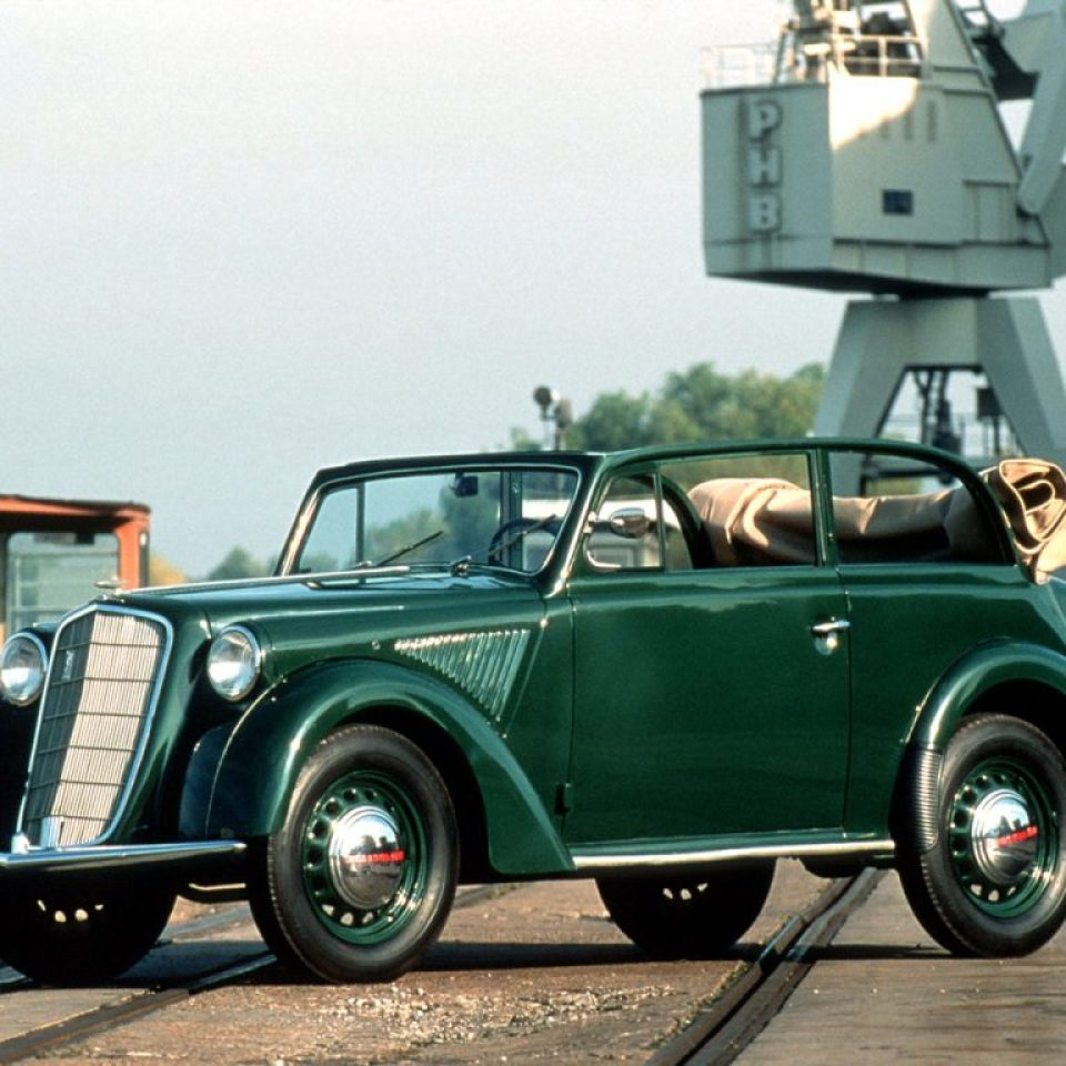 1935 a 37 Opel Olympia Cabrio Limousine
