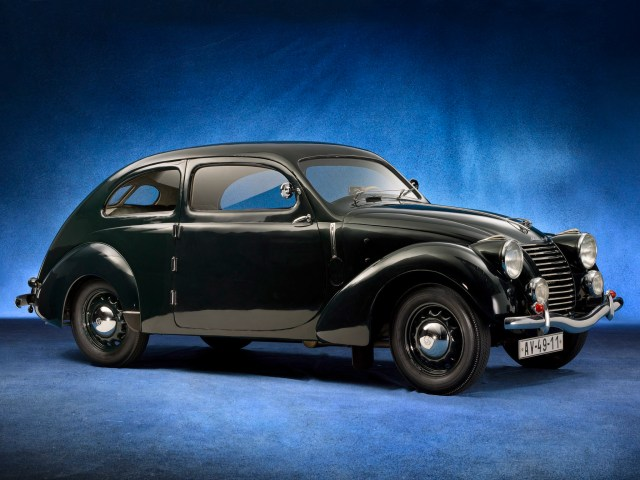 1939 Skoda Rapid ohv Streamlined Tudor Type 922