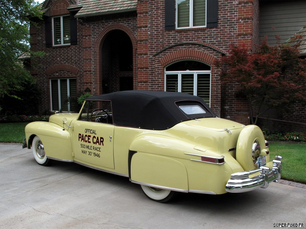 1946 Lincoln Continental Indy Pace Car