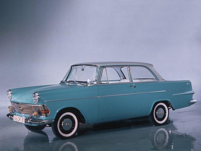 1960 a 1963 Opel Rekord P2