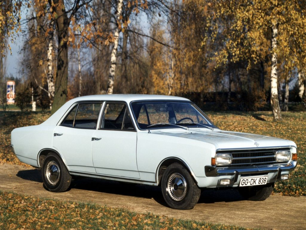 1966 a 71 Opel Rekord C