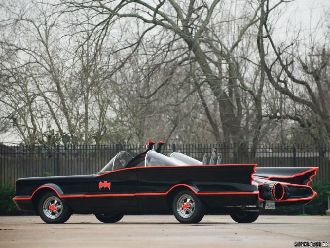 1966 Lincoln Futura Batmobile by Barris Kustom