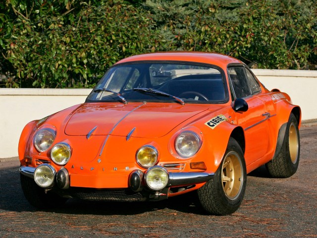 Renault Alpine A110 1600s Group-4 1970 a 75
