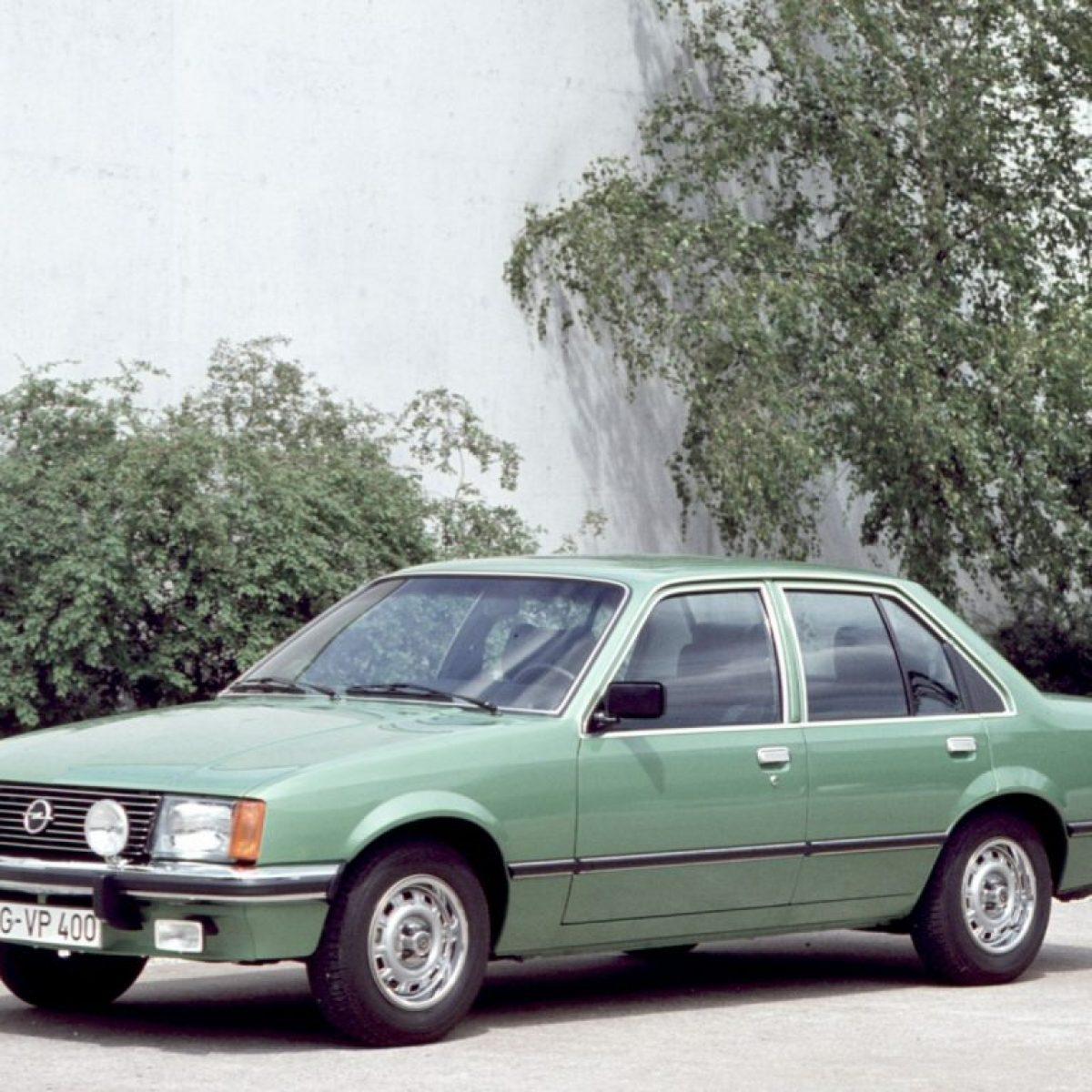 1977 a 1982 Opel Rekord E 77