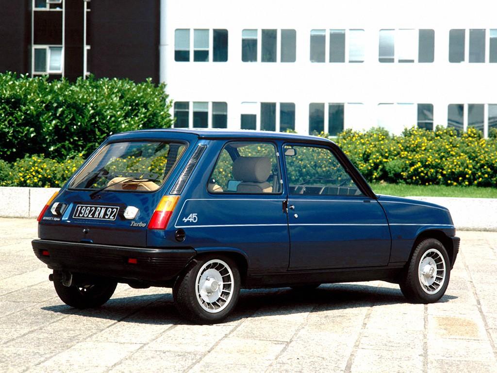 1982-84 Renault 5 Alpine Turbo