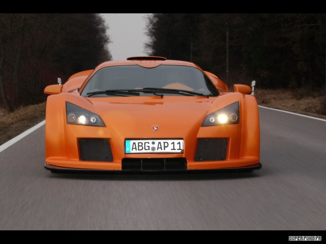 2006 Gumpert Apollo Orange