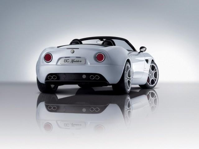 2008 Alfa-Romeo 8c-Spider