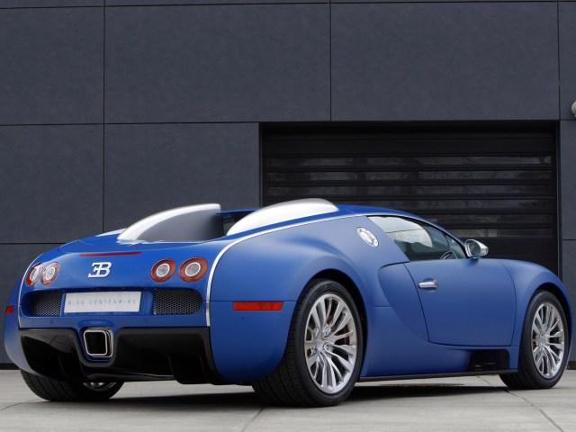 Bugatti Veyron Bleu Centenaire (2009)