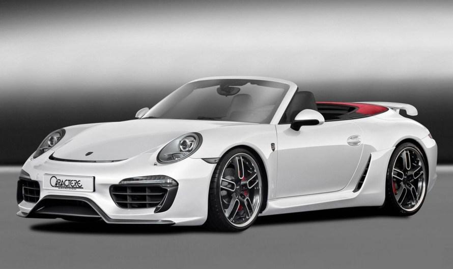 Caractere Porsche 911 Cabriolet 2013: Un extérieur entièrement mis à jour