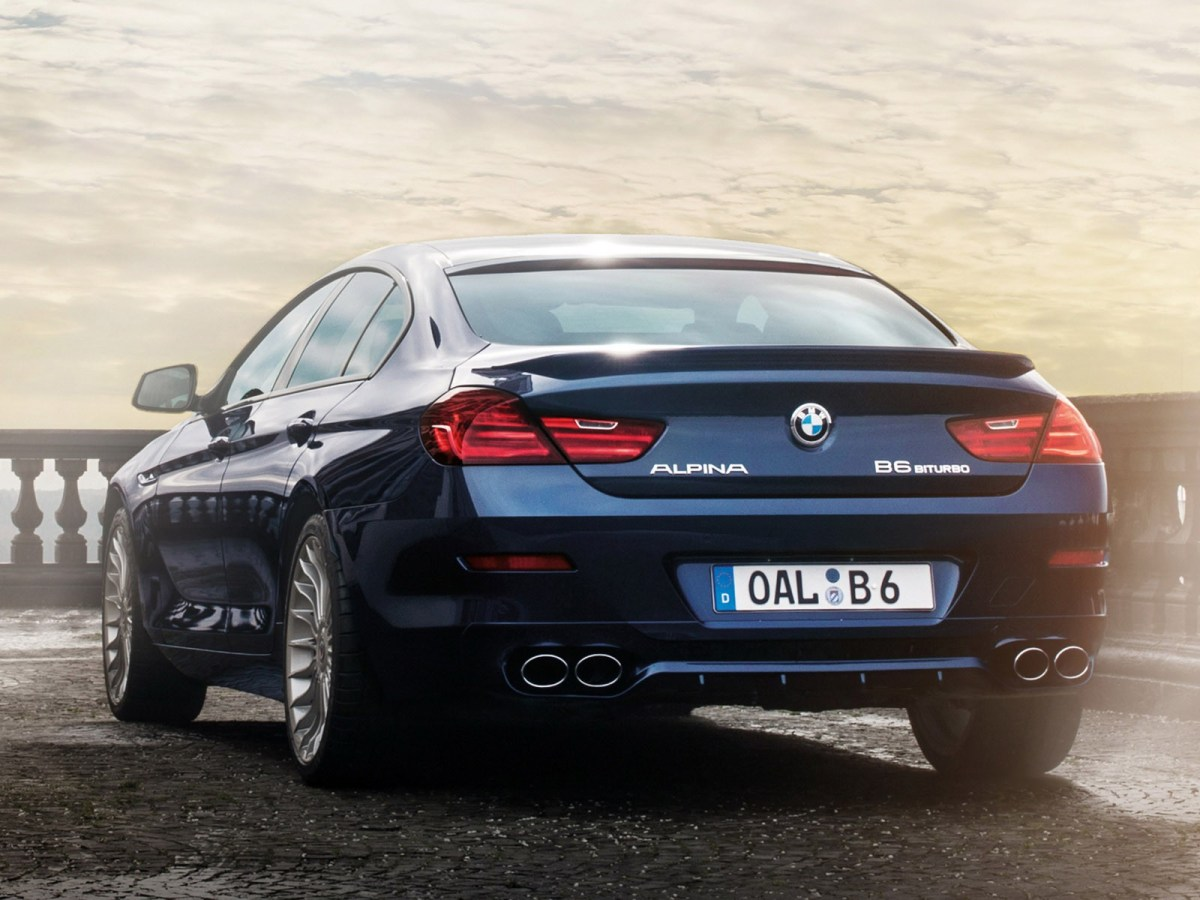 2014 Alpina B6 Biturbo Gran coupe F06