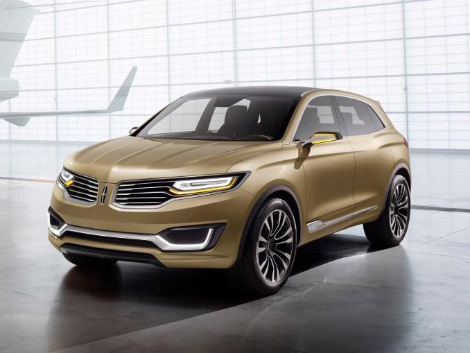 2014 Lincoln MKX Concept