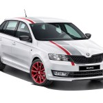 2014 Skoda Rapid Spaceback Red Grey