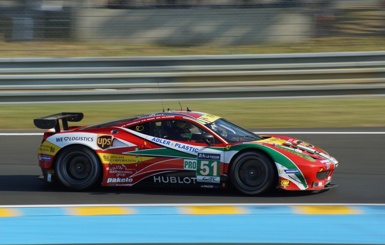 24 H du Mans 2014 - Ferrari F458 Italia
