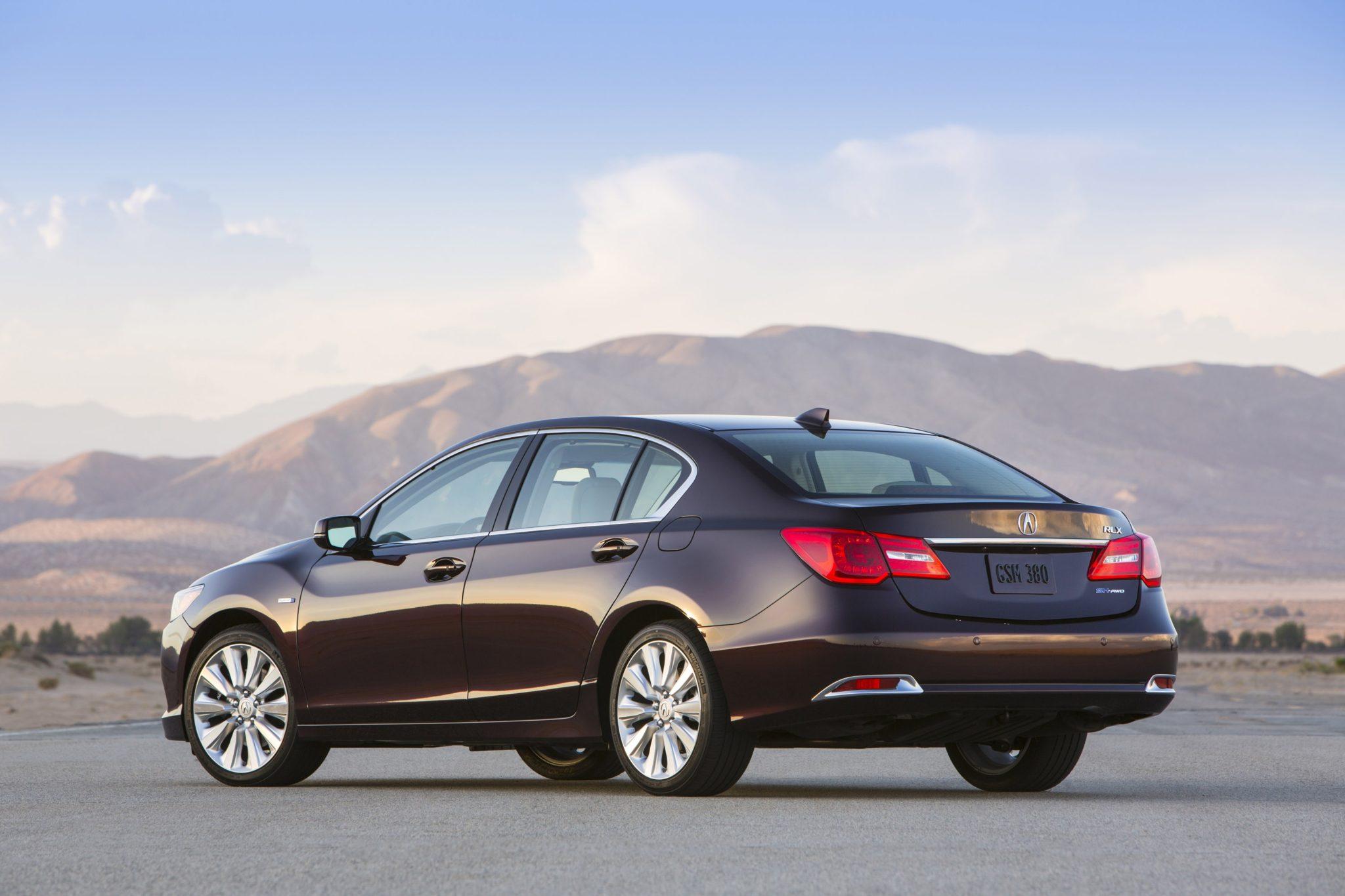 2014 Acura RLX Sport Hybrid SH AWD