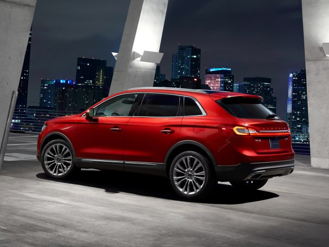 2015 Lincoln MKX Rouge Arriere
