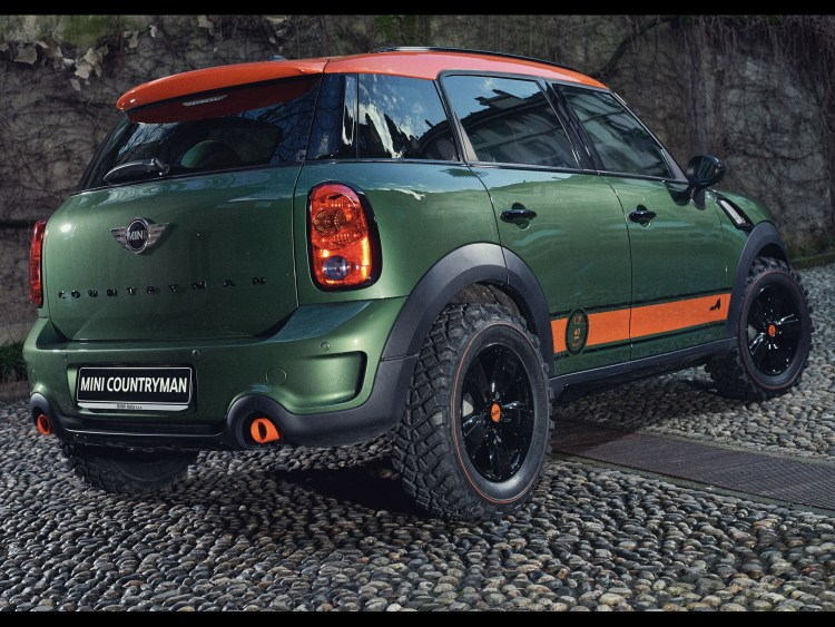 2015 Mini Cooper S All4 Countryman Wears C.O Company R60