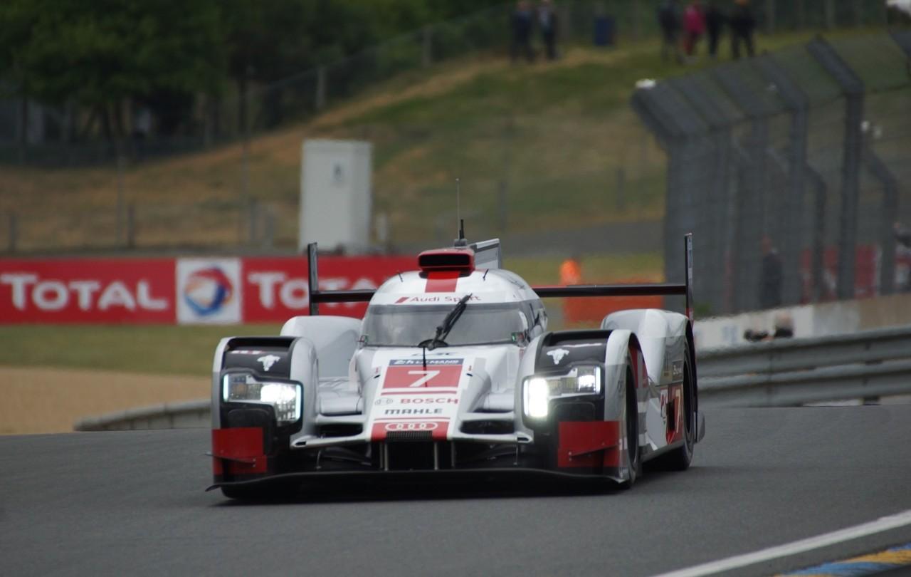 24 H du Mans 2015 - Audi R18 etron quattro Team Joest