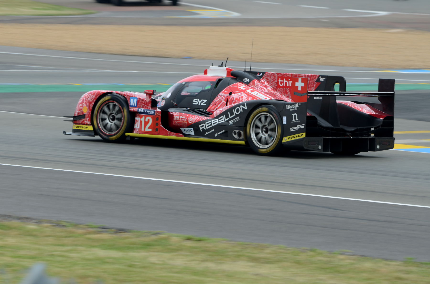 2016 Rebellion R One AER - Team Rebellion Racing