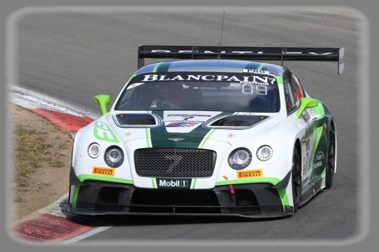 2017 Blancpain GT Series - Bentley Continantal GT3