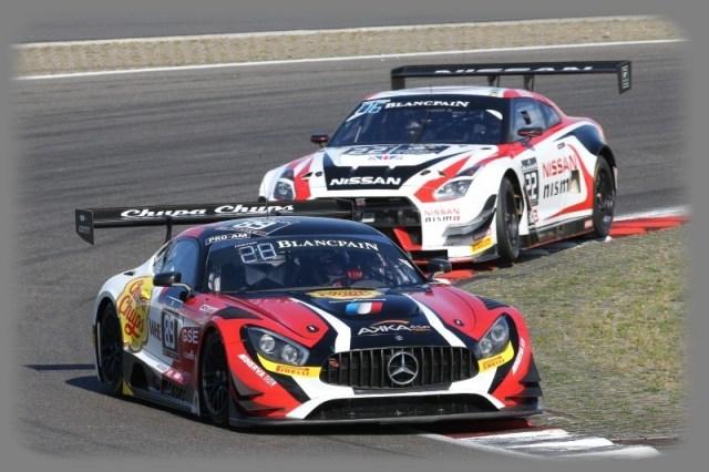 2017 Blancpain GT Series - Mercedes SLS AMG GT3