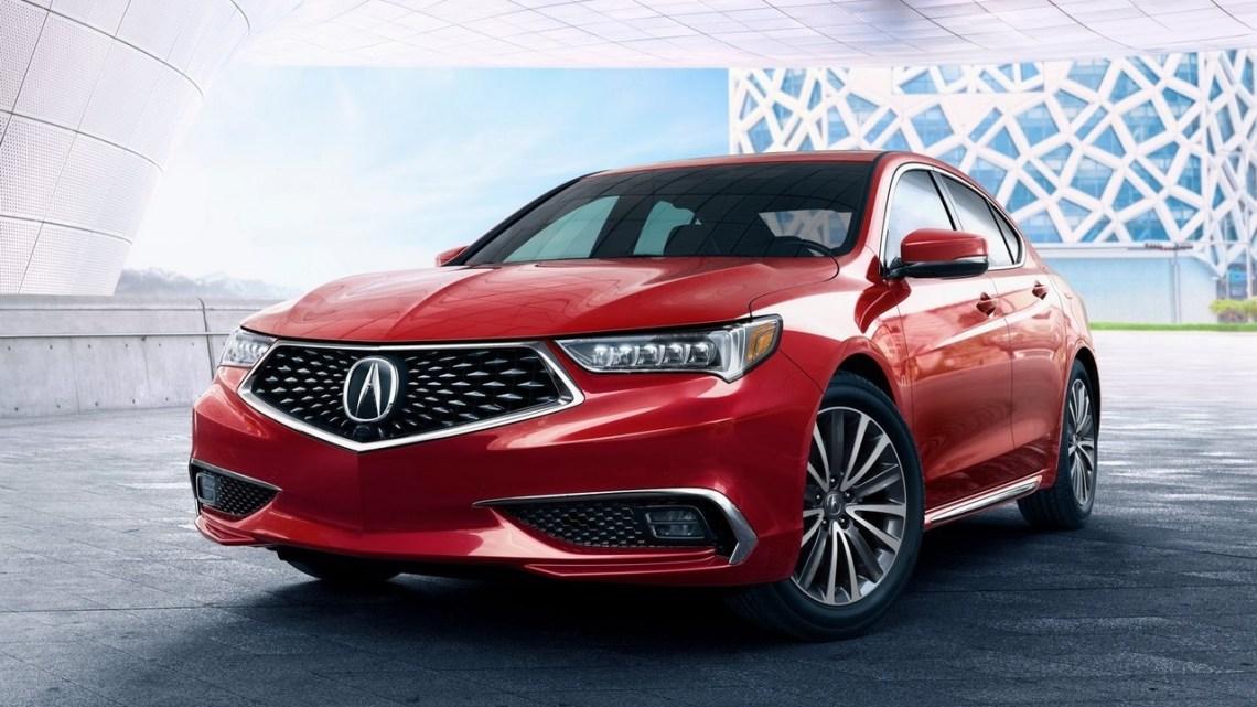 Acura TLX 2018 – Nouveau visage au New York Auto Show