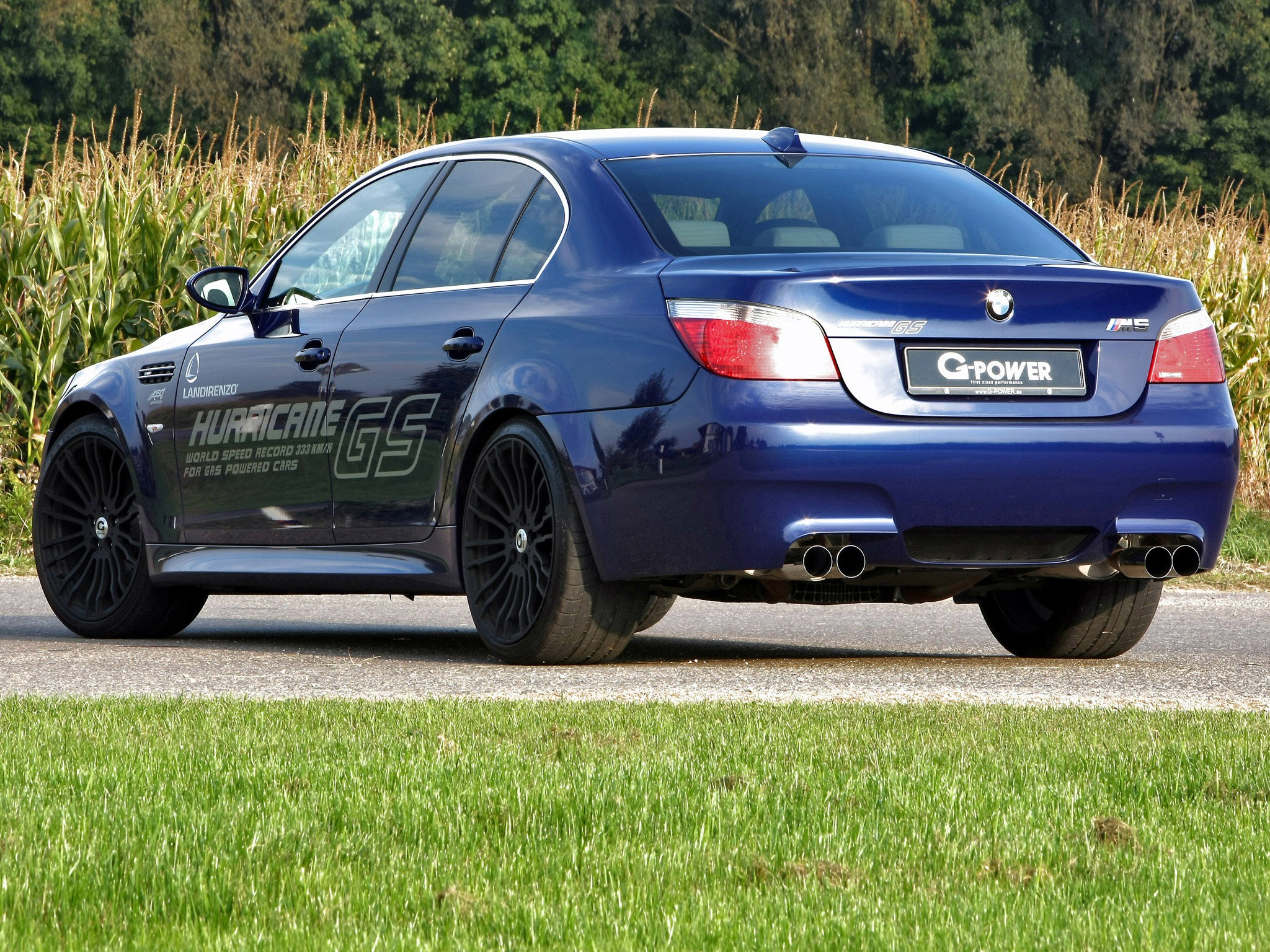2010 G-power - Bmw M5 Hurricane GS E60