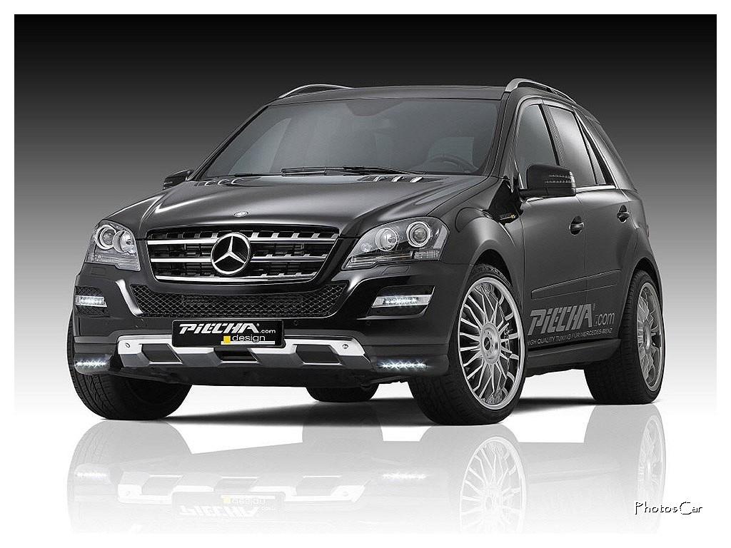 2011 Piecha Design : Mercedes ML Evorian RS