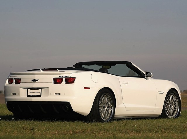 2011 Hennessey - HPE600 Chevrolet Camaro Convertible