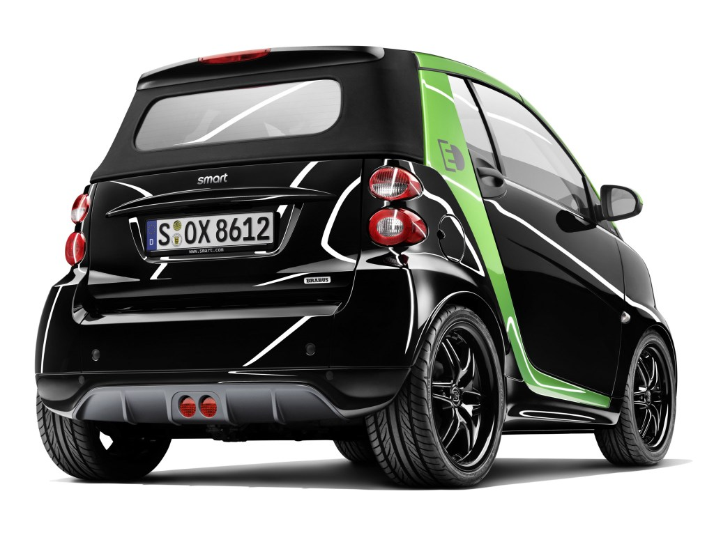 2012 Brabus Smart Fortwo Electric Drive Cabrio
