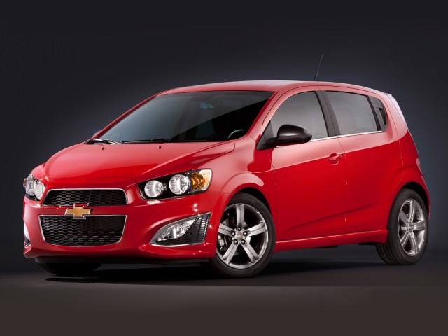 2012 Chevrolet Sonic RS