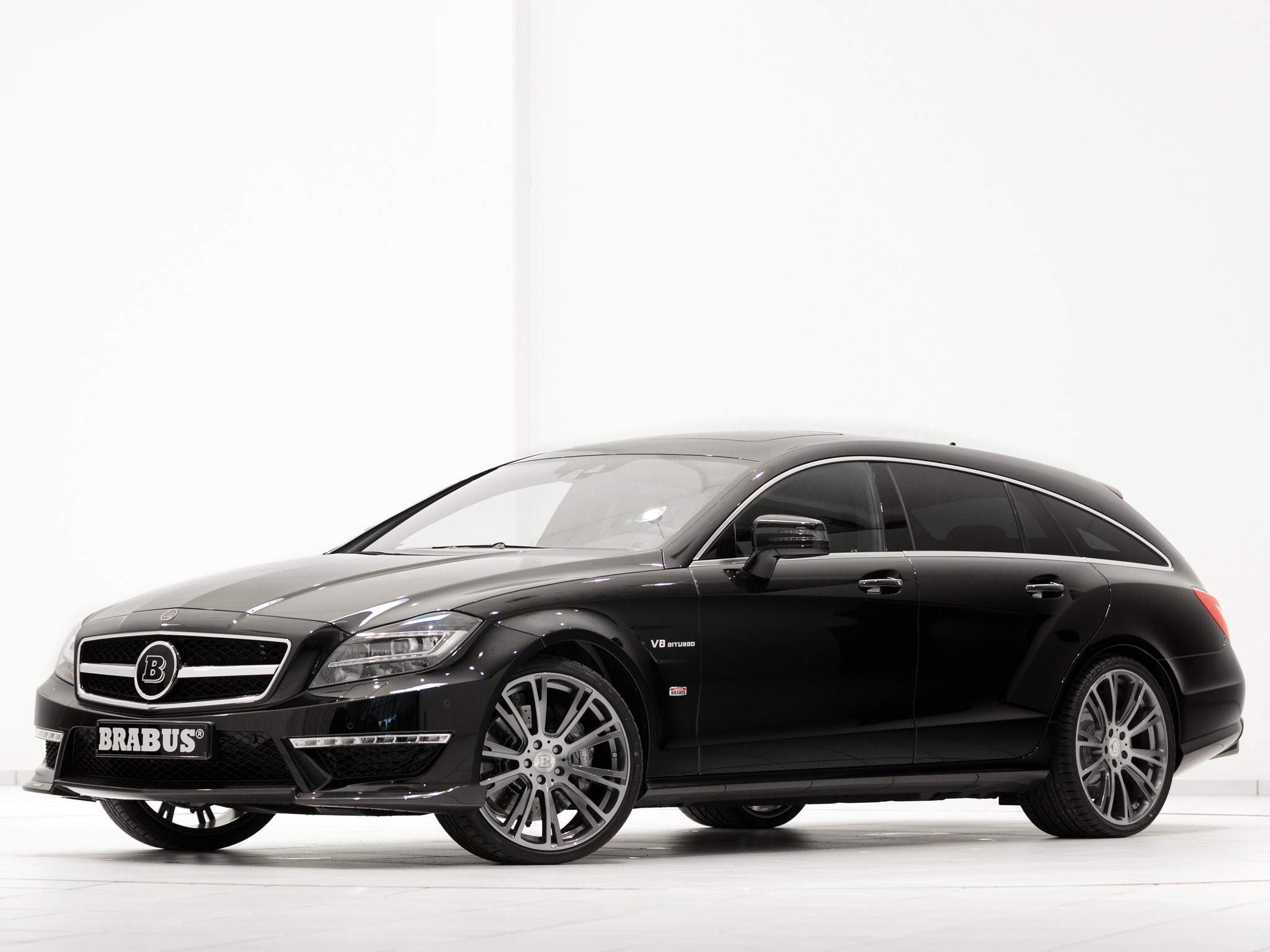 2013 Brabus Mercedes CLS Shoting Brake B63S X218
