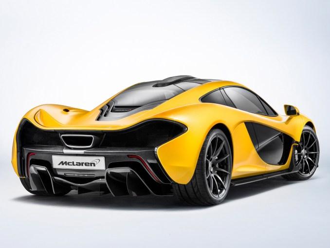 2013 Mclaren P1 Production Car
