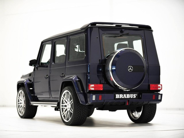 2014 Brabus Mercedes G63 Widestar Mystic Blue