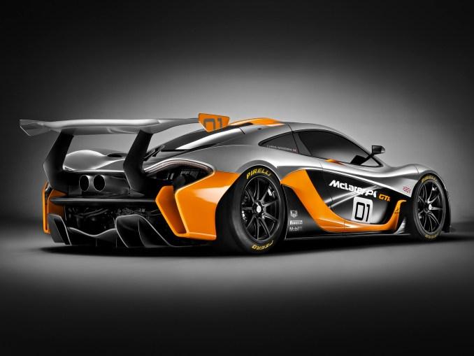 2014 Mclaren P1 GT- R Concept