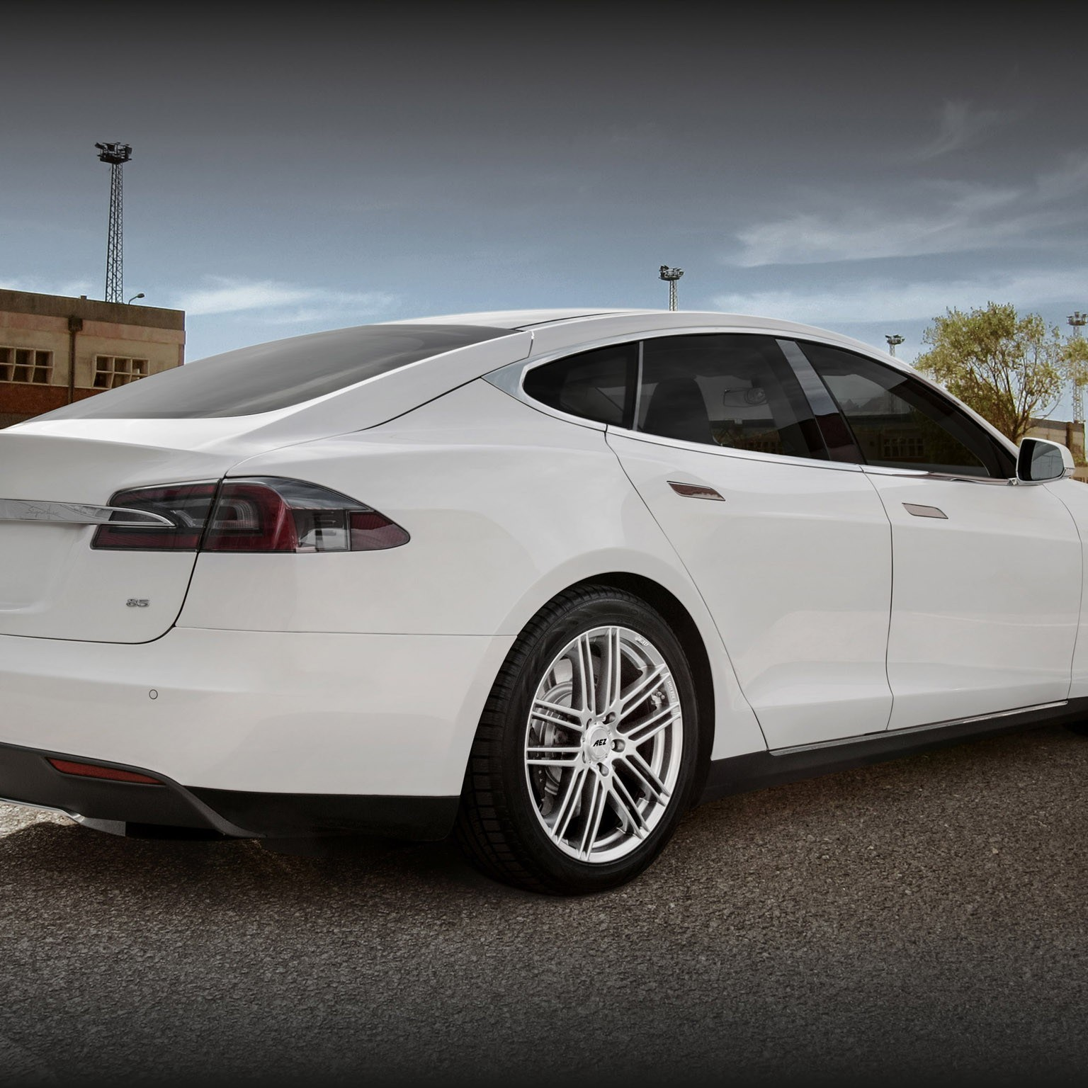 2014 Tesla Model S électrique - AEZ Cliff