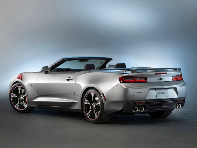 2015 Chevrolet Camaro SS Convertible Red Accent Package Concept