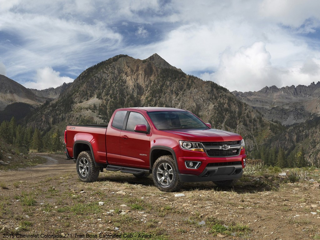 2015 Chevrolet Colorado Z71 Trail Boss Extended Cab