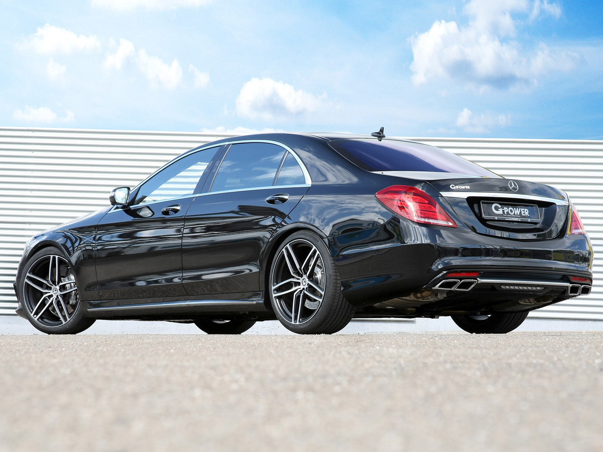 2015 G-power - AMG Mercedes S63 Lang V222