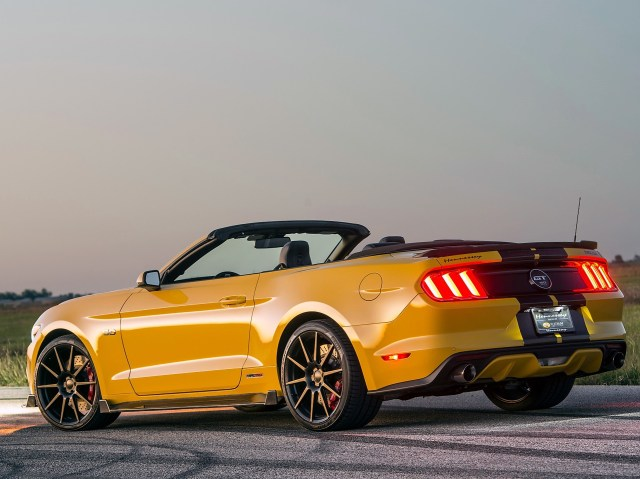 2015 Hennessey Ford Mustang GT Convertible hpe750 Supercharged