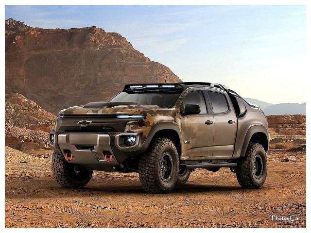 2016 Chevrolet Colorado ZH2 Concept