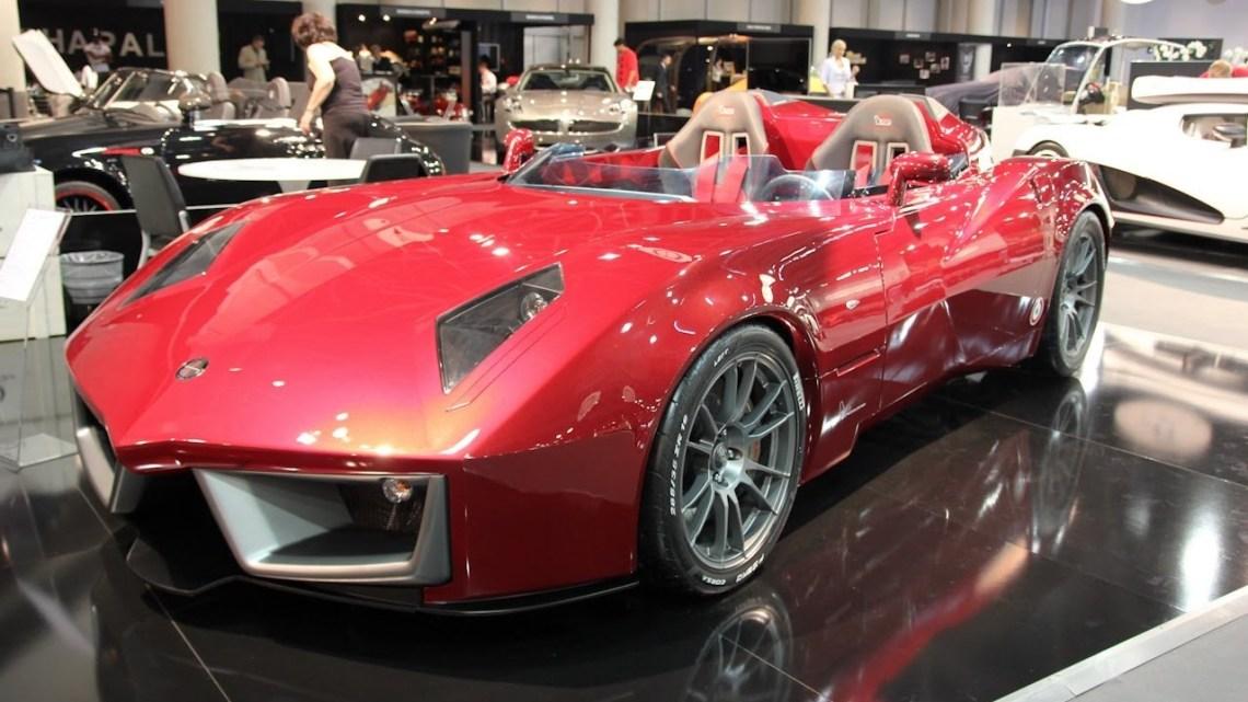 Spada Codatronca Monza par la société Spada Vetture Sport: Supercar