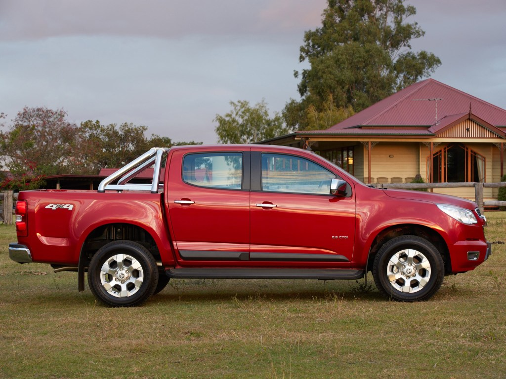 2012 Holden Colorado LTZ Crew Cab