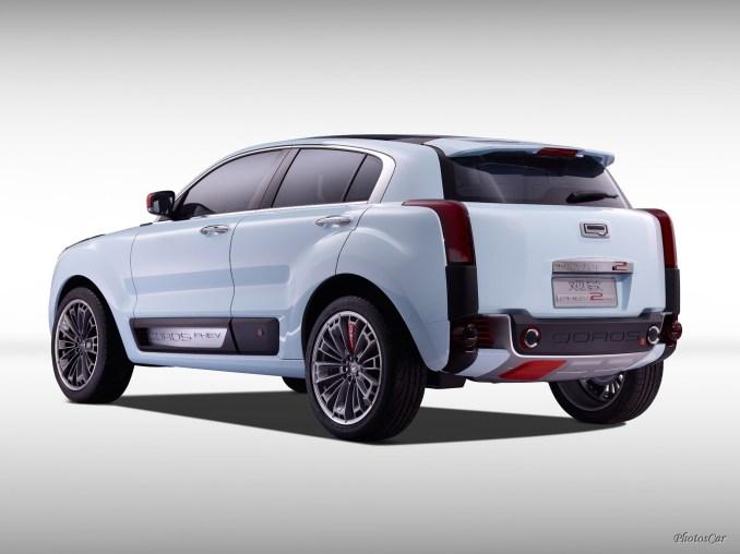 2015 Qoros 2 SUV PHEV Concept