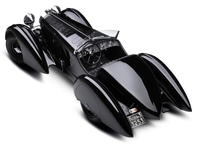 1930 Mercedes SSK Trossi Roadster