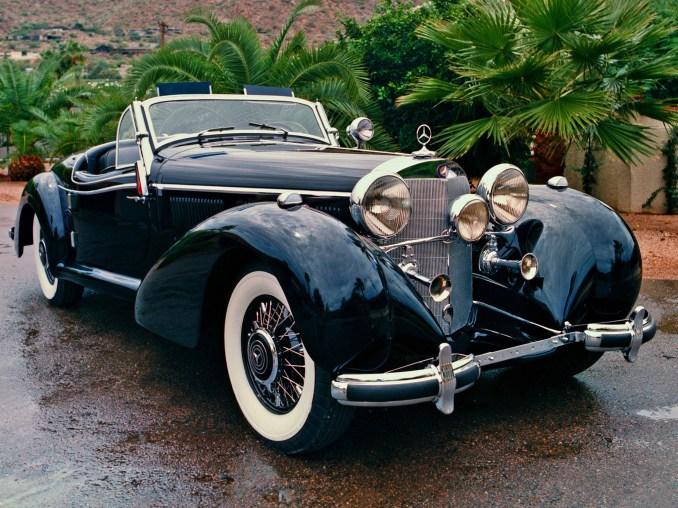1936 Mercedes 540K Cabriolet B