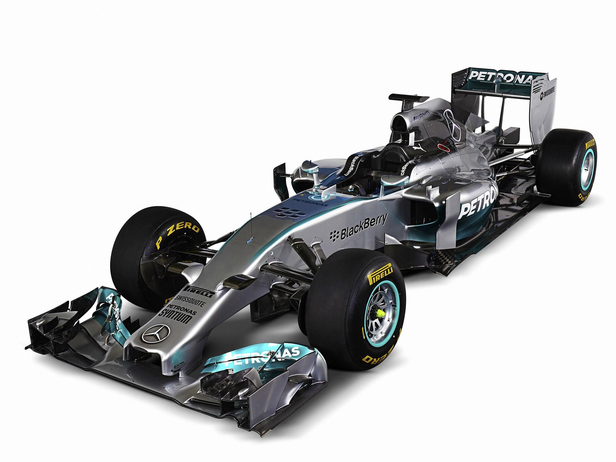 2014 Mercedes F1 AMG W05