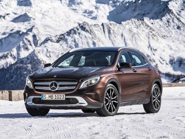 Mercedes GLA220 CDI 4matic X156 2014